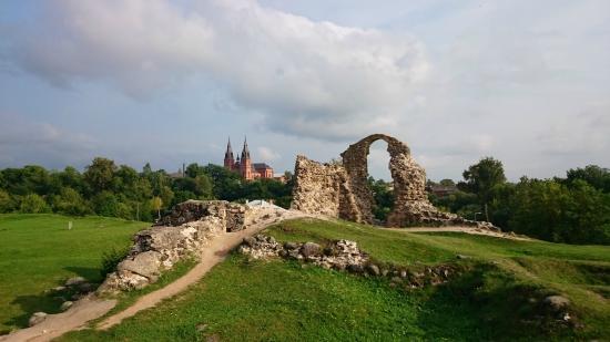 Развалины Резекненского замка